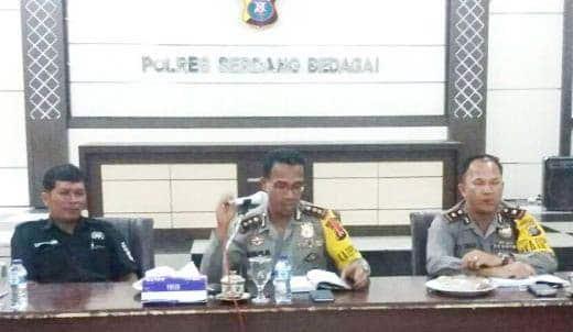 Kapolres Sergai : Polisi & Wartawan Mitra Kerja