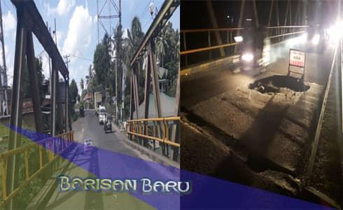 3 Bulan Terabaikan, Jembatan Sihitang Terancam Ambruk