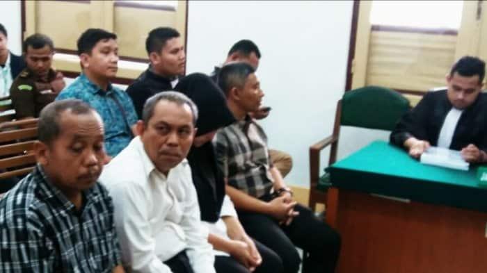 Sidang Kadisdik Langkat Dituntut Hukuman 1 Tahun 2 Bulan Penjara
