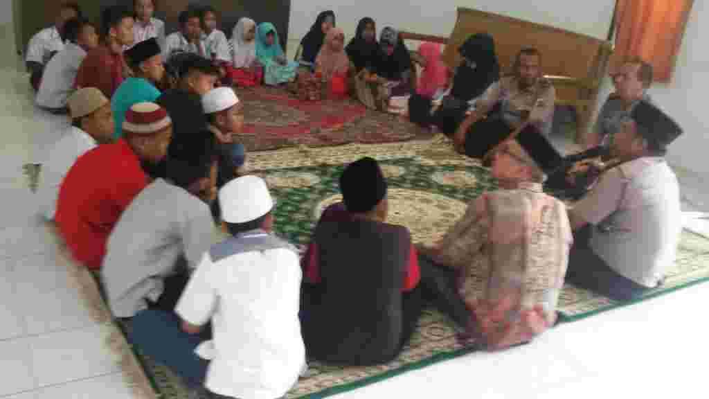 Sambut Ramadhan, Polsek Hamparan Perak Santuni Anak Yatim