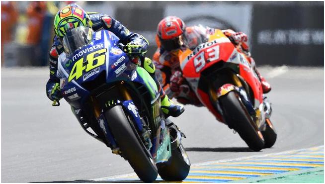 Jelang MotoGP Amerika Rossi dan Marquez Dapat Peringatan