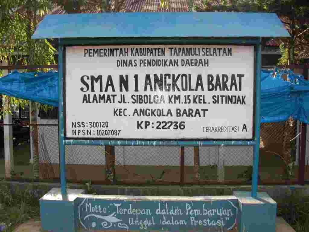 Kepala Sekolah SMA N 1 Sitinjak Tapanuli Selatan Diduga Pungli