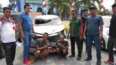 Disertai Aksi Kejar – Kejaran, Kawanan Pencuri Mobil  Akhirnya Diringkus Polsek Hamparan Perak