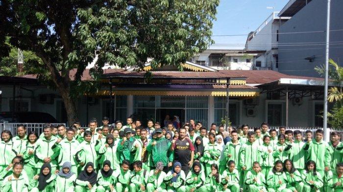 Kadispora Medan Lepas Kontingen Popdasu ke-XIII Bertanding di Kota Padangsidimpuan